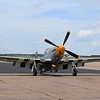 P-51 Mustang, Section Eight ready for take off at the Colorado Springs Airport