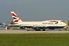 G-BNLC. Boeing 747-436. British Airways. Miami. 270904.