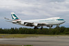 B-LIC. Boeing 747-467ERF/SCD Cathay Pacific Cargo. Anchorage. 260610.