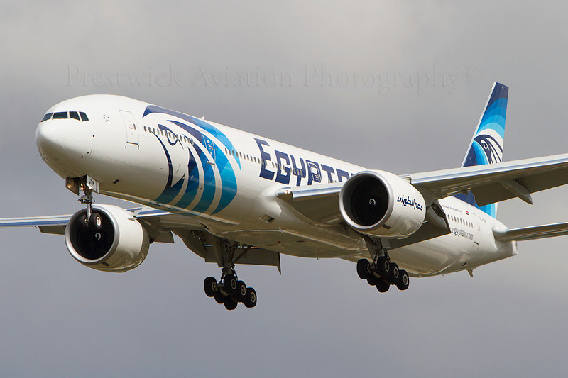 SU-GDM. Boeing 777-36N/ER. Egyptair. Heathrow. 140810.