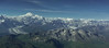 View of Denali from the air