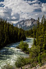 A mountain stream near Maligne Lake in Jasper National Park, Alberta, Canada.