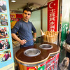 Turkish Ice Cream. Senado Square to Ruins of St. Paul's - Macau, China S.A.R (澳门特区)