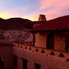 Sunset. Scotty's Castle - Death Valley National Park