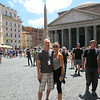 Outside the Pantheon in Rome, Italy - Honeymoon 2014