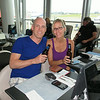 Getting the vacation started at the Toronto airport - Honeymoon 2014