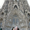 The Sagrada Familia in Barcelona, Spain - Honeymoon 2014