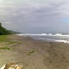 playa negra in the morning
