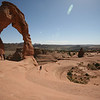 Delicate Arch and its natural amphitheatre