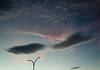 15 October 2014: clouds, Alcampo supermarket parking lot, on my way home from work.