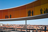 20 April 2013: the Rainbow Panorama on the roof of the Aros museum of modern art.
