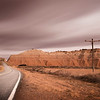 A break in the wall. Border between Utah and Arizona, USA, 2013. Ideal Print Format: 1:2 Panoramic.