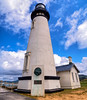 Yaquina Head lighthouse on the Oregon coast