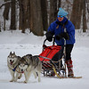 "Dog Sledding - Winter Days! <br /> Dog Sledding Demonstration at 'Winter Festival Days"" held at the ""Vermilion River Reservation of the Lorain County Metroparks"" in Vermillion, OH."