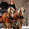 "Winter Days Festival - Carriage Ride in the Snow!  © 2010 Paul L. Csizmadia  All Rights Reserved  No Use Allowed without Permission  <a href=""http://fiveprime.org/blackmagic/m"" rel=""nofollow"">View on black</a>  'Winter Days Festival' at 'Mill Hollow', within the Vermillion River Reservation of the Lorain County Metroparks System."