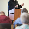 "Fr. Denis Robinson gave the Day of Recollection on the ""Science of the Cross"" during the 2014 Alumni Reunion."
