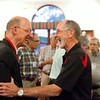 Reunion banquet honoring John Buche O'61 and Msgr. Mike Hohenbrink O'74 as the Distinguished Alumnus Award recipients.