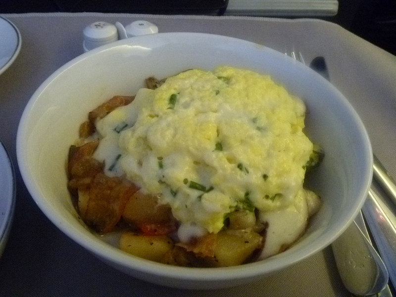 20130216 SFO-JFK 7am breakfast skillet