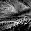 A black & white of the theater was used here because there was a lot of digital noise in the image due to very low light.