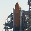 SRBs and External Tank attached to orbiter Endeavour for flight STS-130