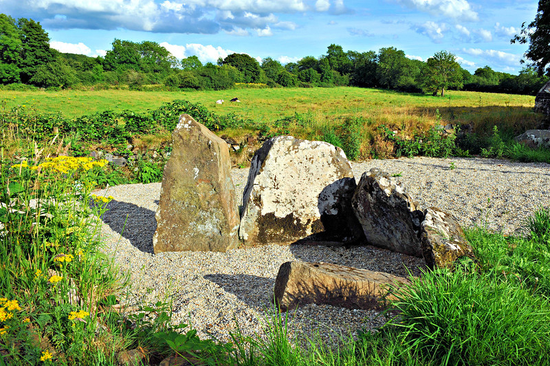 Tirnony Dolmen<br /> Maghera<br /> County Londonderry<br /> Picture Date: 4th August 2013