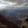 Monitoring Fall Raptor Migration in the Grand Canyon with HawkWatch International 2014 - Grand Canyon Landscape from Lipan Point on a rainy day