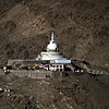 Shanti Stupa - from the Khardung La Road