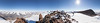 360 degree panorama, looking down into the Taylor Valley from the 1882 Peak repeater site.