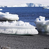 Icebergs near Brown Bluff on the Tabarin Peninsula, Weddell Sea, southeastern side of the Antarctic Peninsula.