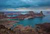 """Stormy Dawn at Lake Powell"""