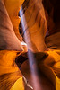 """Light Beam in Upper Antelope Canyon"""