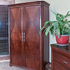 Bedroom wardrobe - extremely well made high-end.  $1200