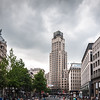 Storm Clouds over the Boerentoren, Antwerp