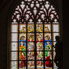 Stained-Glass Silhouette, Antwerp