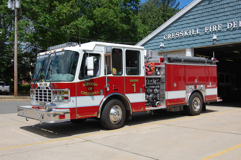 Cresskill Engine 1 2001 Ferrara Inferno 1750-1000 Photo by Chris Tompkins