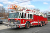 Teaneck Reserve ladder 1 1999 Spartan-LTI 100' Photo by Chris Tompkins