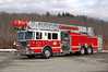 Budd Lake Ladder 58 2013 Seagrave 2000-500-100' Photo by Chris Tompkins