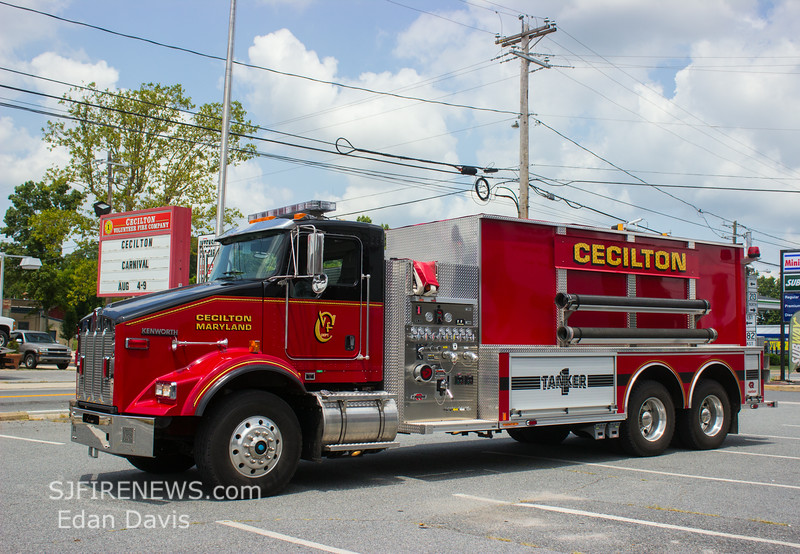 Cecilton, Cecil County MD, Fire Co  Apparatus Shoot, (C) Edan Davis, www sjfirenews com  (10)