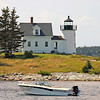 Pumpkin Island Lighthouse, Penobscot Bay, ME