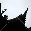 Yu Garden Roof Peaks, Shanghai, China by kstellick