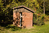 Old Brick Outhouse, Portage County, Wisconsin