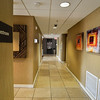 Hallway artwork by Robert Hilton of Esprit Decor Gallery & Framing, Phoenix, Arizona.
