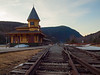 Historic Crawford Station at Crawford notch New Hampshire.  I've often driven by it, but never shot it so before the sun came up I decided it was a good time.