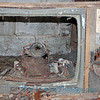 Springfield State Hospital property, TV left in the pig pen