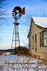 Abandoned House and Windmill, Richland County, Wisconsin