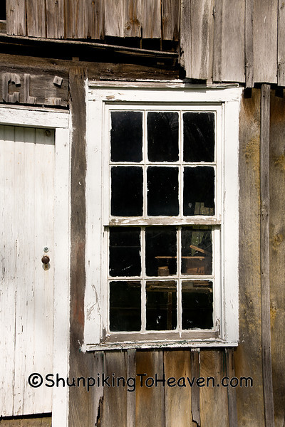 Window of H. C. Ogle Planing Mill, Noble County, Ohio