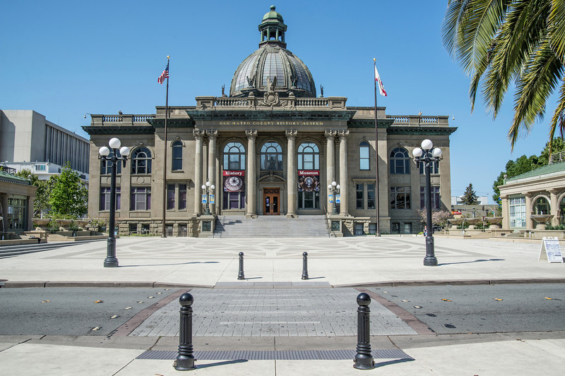 San Mateo County Court House (Architect: Glenn Allen)