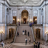 Grand Staircase, San Francisco City Hall (Architect: Arthur Brown, Jr.)