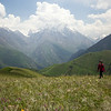 tian shan mountains in kyrgyzstan