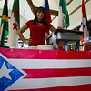 Ms. Ramos, International Student Advisor, organized the event and represented Puerto Rico for International Week.